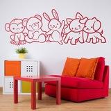 Kinderzimmer Wandtattoo: Tieren 0