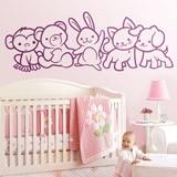 Kinderzimmer Wandtattoo: Tieren 2