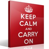 Wandtattoos: Keep Calm And Carry On 3