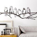Wandtattoos: Vögel auf einem Ast 2