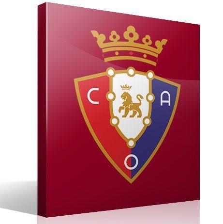 Wandtattoos: Club Atlético Osasuna wappen