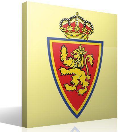 Wandtattoos: Real Zaragoza wappen