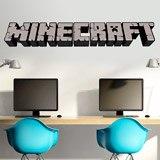 Wandtattoos: Minecraft 3