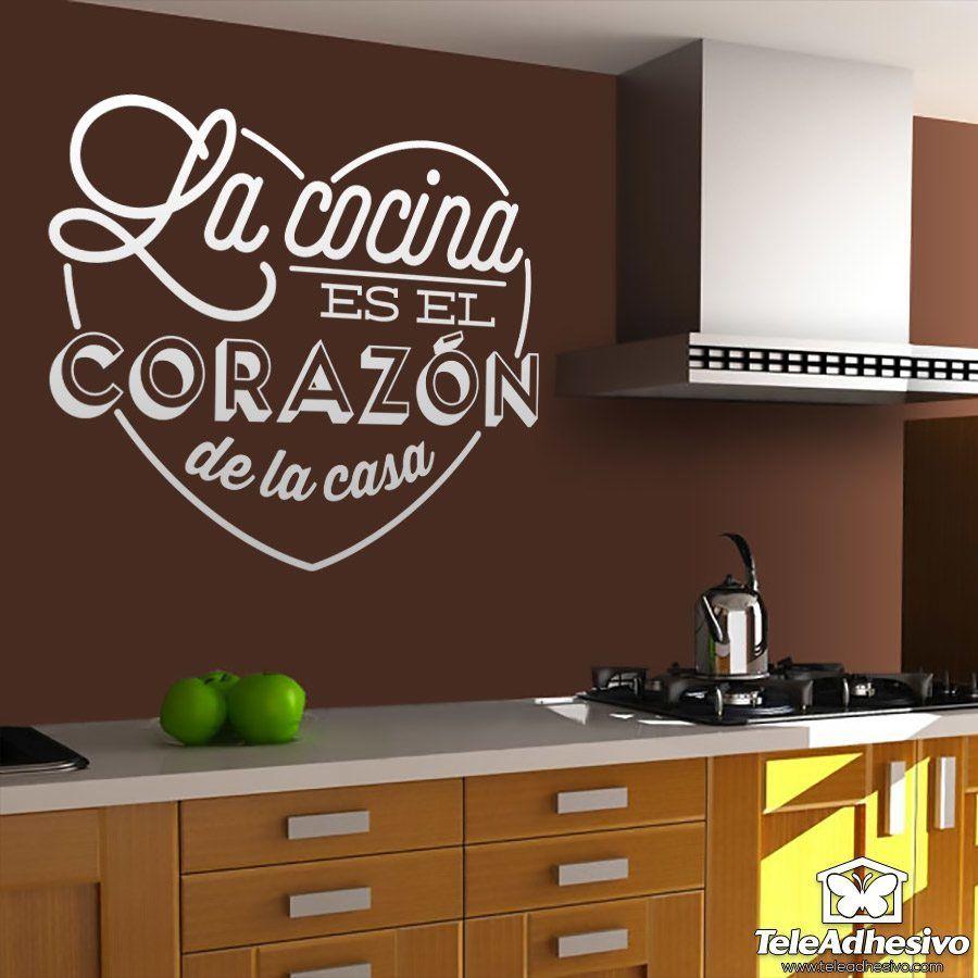 Wandtattoos: La cocina es el corazón de la casa