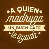 Wandtattoos: A quien madruga un buen café le ayuda 2