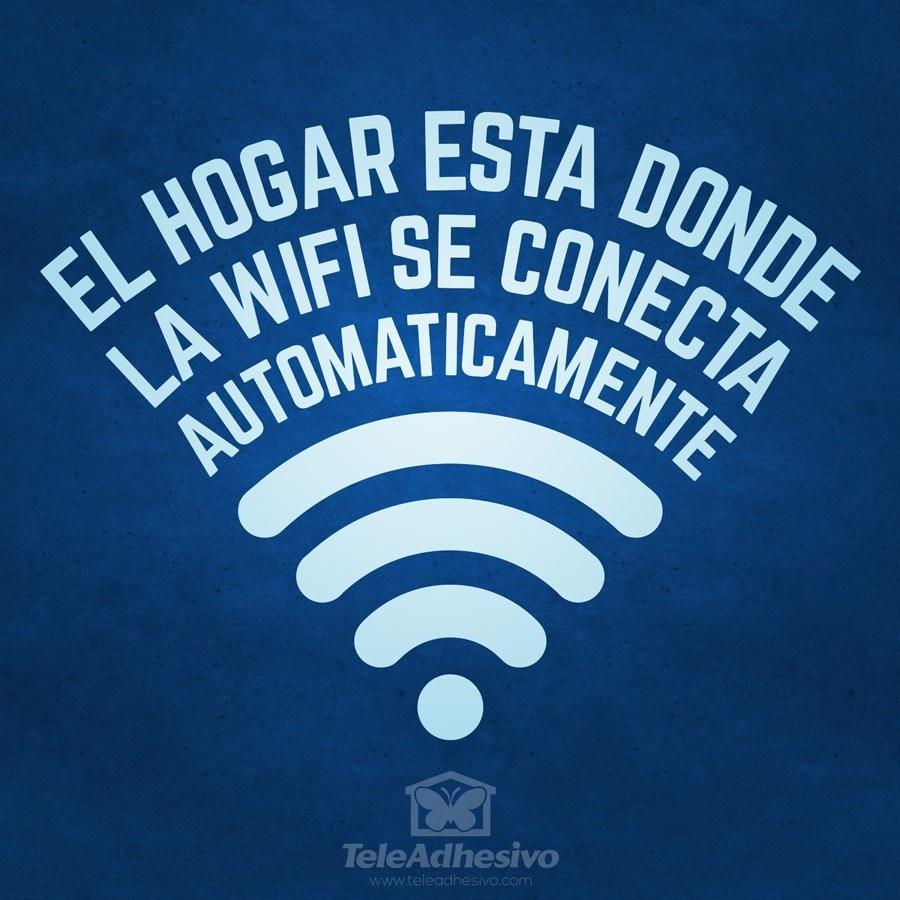 Wandtattoos: El hogar está donde la wifi se conecta