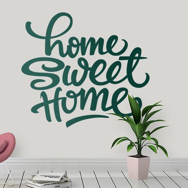 wandtattoos home sweet home