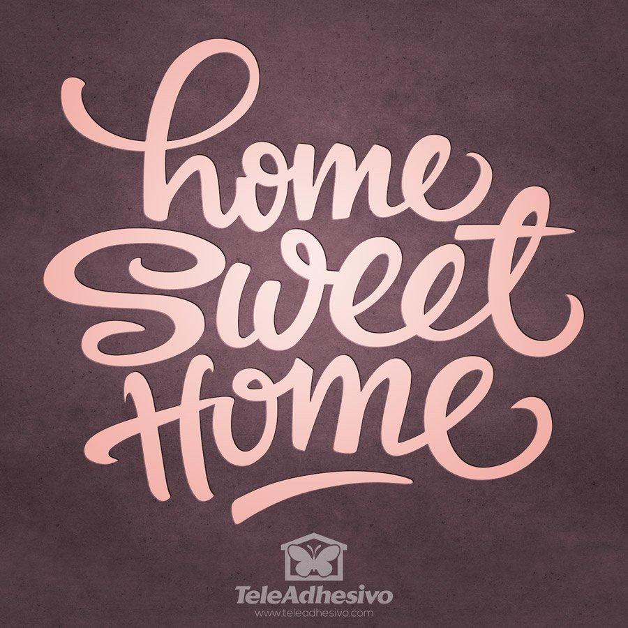 Künstlerisch Wandtattoo Home Sweet Home Referenz Von Wandtattoos: