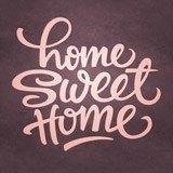 Wandtattoos: Home Sweet Home 2