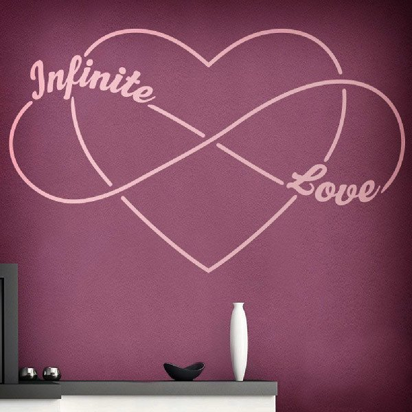 Wandtattoos: Infinite Love