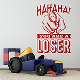 Wandtattoos: Hahaha, you are a loser 0