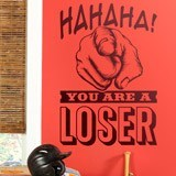 Wandtattoos: Hahaha, you are a loser 1