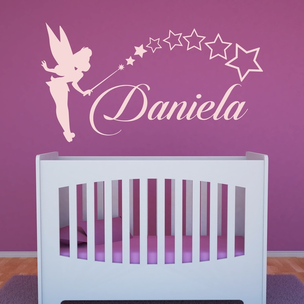 wandtattoo kinderzimmer m dchen 0 14 jahre. Black Bedroom Furniture Sets. Home Design Ideas