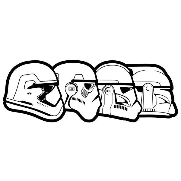 Wandtattoos: Stormtroopper Evolution