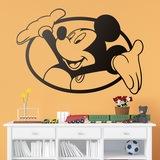 Kinderzimmer Wandtattoo: Mickey Mouse-Fenster 0