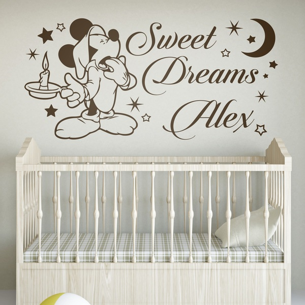 mickey mouse sweet dreams. Black Bedroom Furniture Sets. Home Design Ideas