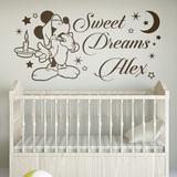Kinderzimmer Wandtattoo: Mickey Mouse Sweet Dreams 0