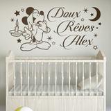 Kinderzimmer Wandtattoo: Mickey Mouse Doux Rêves 0