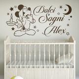 Kinderzimmer Wandtattoo: Mickey Mouse Dolci Sogni 0