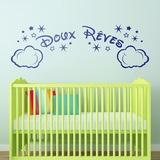 Kinderzimmer Wandtattoo: Wolken und Sterne Doux Rêves 0