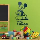 Kinderzimmer Wandtattoo: Mickey Mouse Football 4 0