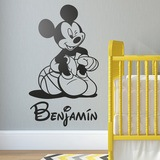 Kinderzimmer Wandtattoo: Mickey Mouse-Basketball-2 0
