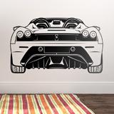 Wandtattoos: Ferrari F430, hinten 3