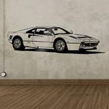 Wandtattoos: Ferrari 288 GTO 3