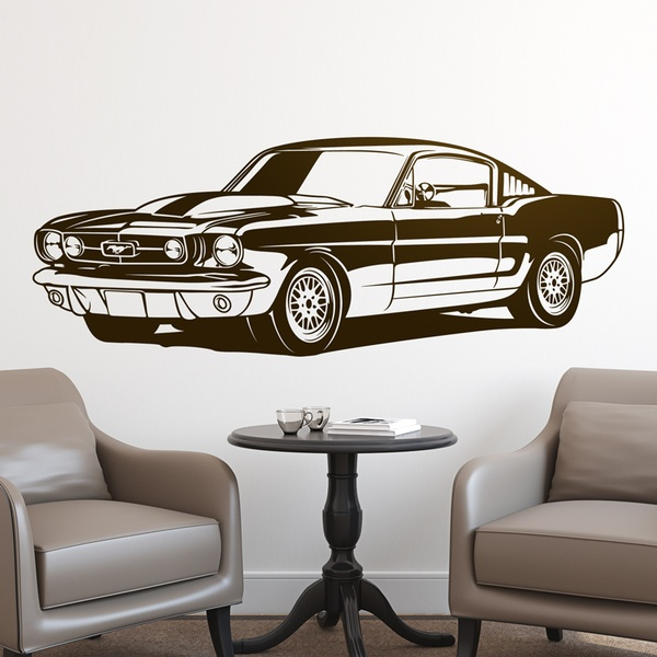 Wandtattoos: Ford Mustang Shelby GT350