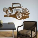 Wandtattoos: Jeep Zweiten Weltkrieg 2