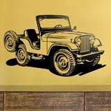 Wandtattoos: Jeep Zweiten Weltkrieg 3