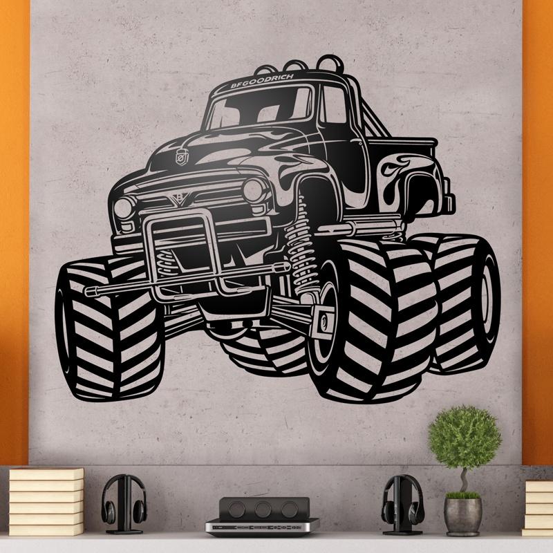 Wandtattoos: Monster Truck BigFoot