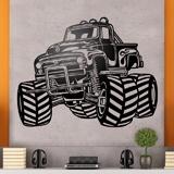 Wandtattoos: Monster Truck BigFoot 3