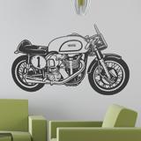 Wandtattoos: Klassisches Motorrad Norton 3