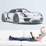 Wandtattoos: Porsche 918 Spyder 3