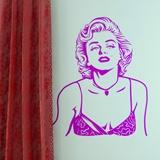 Wandtattoos: Marilyn Monroe 1