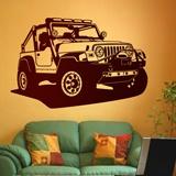 Wandtattoos: Jeep Wrangler 2