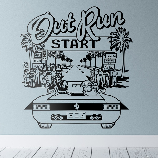 Wandtattoos: Out Run 0