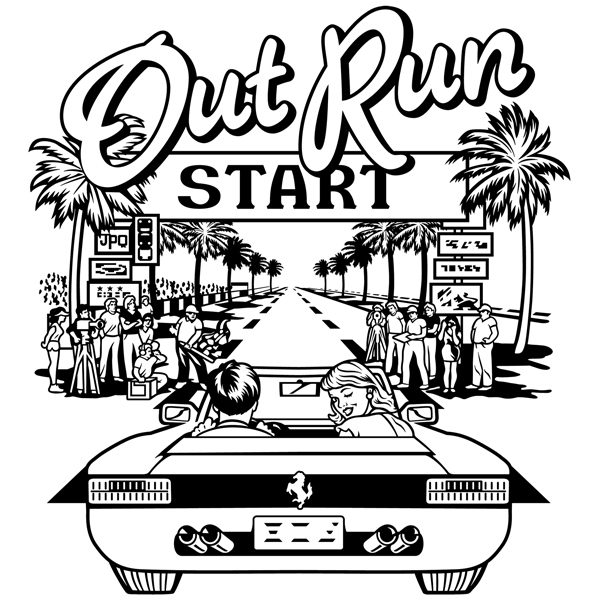 Wandtattoos: Out Run