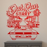 Wandtattoos: Out Run 2