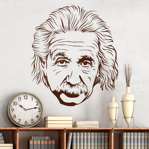 Wandtattoos: Albert Einstein 2