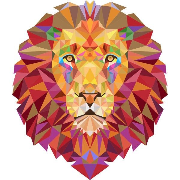 Lion Paper Craft Digital Template Origami PDF Download DIY | Etsy | 600x600