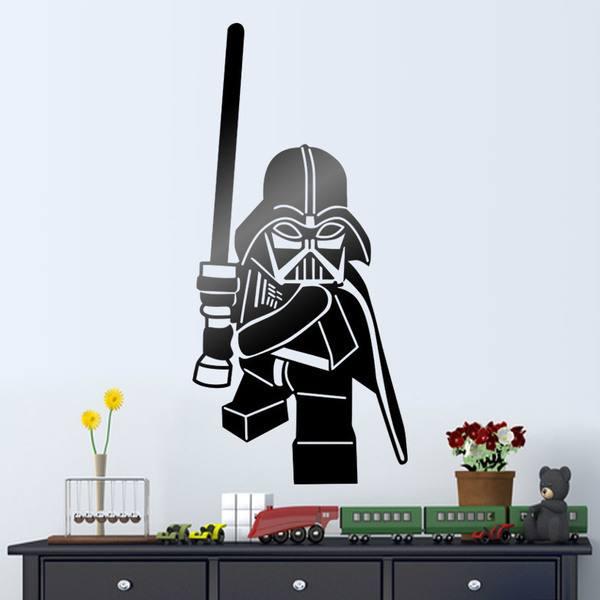 Lego darth vader figur - Lego wandtattoo ...