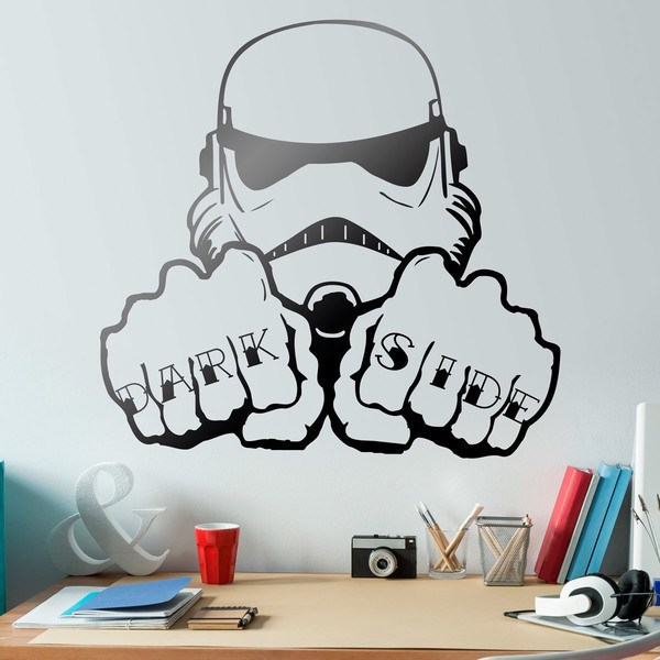 Wandtattoos: Stormtrooper Dark Side Tattoo Hände