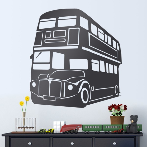 Wandtattoos: London Bus 2 Geschichte