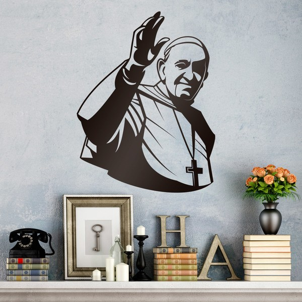 Wandtattoos: Papst Francisco