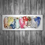 Wandtattoos: Schuhe von Converse 1