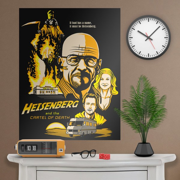 Wandtattoos: Klebstoff Poster Breaking Bad