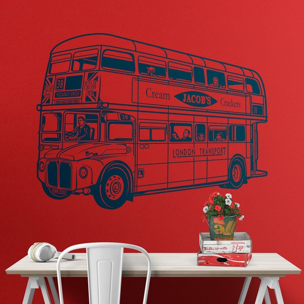 Wandtattoos: Routemaster -Bus