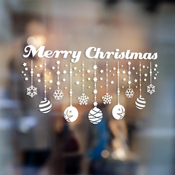 Wandtattoo merry christmas for Weihnachten auf englisch